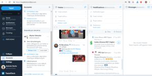 Twitterdeck-ferramenta